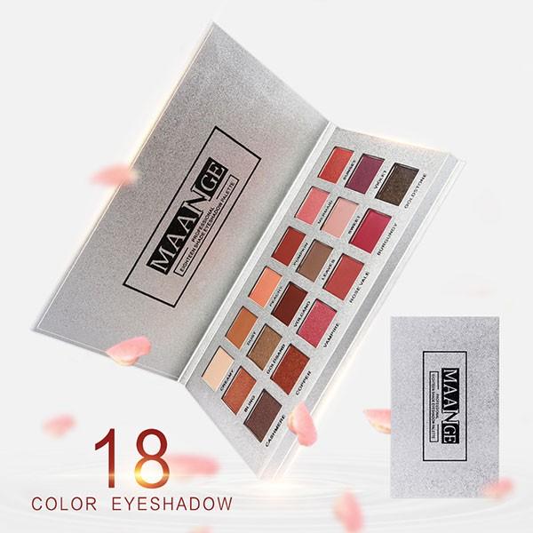 18 цвята сенки за очи в класически розово-златисти нюанси HZS57 2