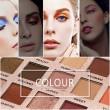 18 цвята сенки за очи в класически розово-златисти нюанси HZS57 12