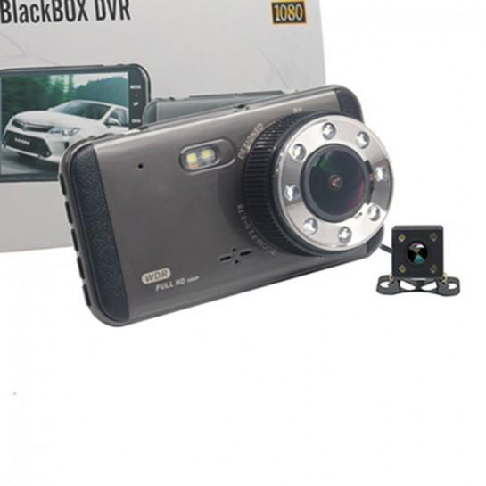 Камера за автомобил за дневно и нощно заснемане с вградени 8 мощни LED светлини