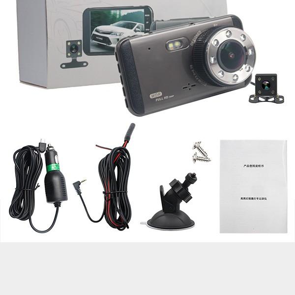 Камера за автомобил за дневно и нощно заснемане с вградени 8 мощни LED светлини 2