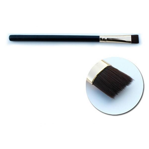 Комплект от девет броя четки за грим в изискана черна чантичка HZS84 9