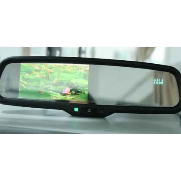 Парктроник със скрита камера и дисплей в огледалото за задно виждане 2