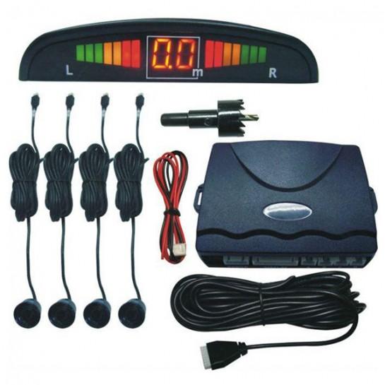 Помощник за паркиране с четири датчика и екран PK15