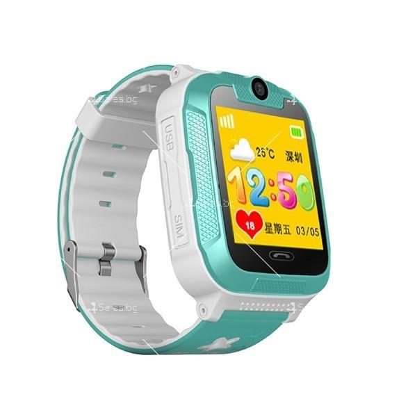Елегантен Смарт часовник 3G Wi Fi Q760 2