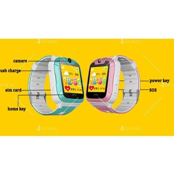Елегантен Смарт часовник 3G Wi Fi Q760 4