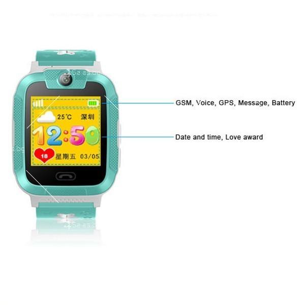 Елегантен Смарт часовник 3G Wi Fi Q760 5