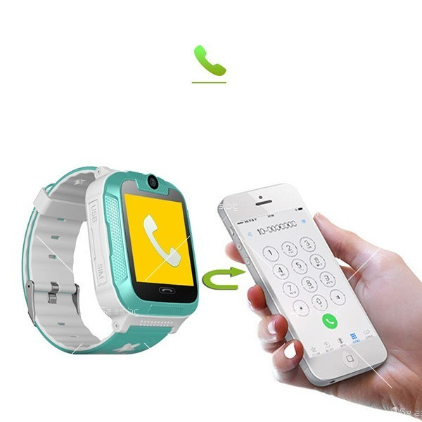 Елегантен Смарт часовник 3G Wi Fi Q760 6
