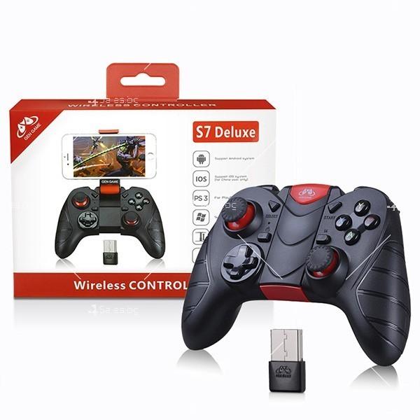 Безжичен контролер за компютърни игри S7 Deluxe, PSP27 1