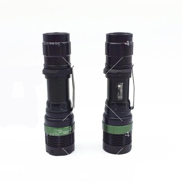Професионален фенер с въртене и увеличение осветяване с тактова светкавица FL1 3