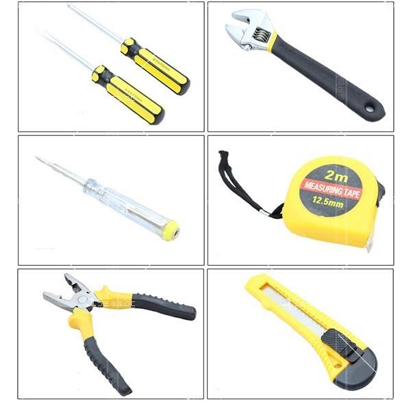 7 инструмента в куфарче CASE-7 LA808 2