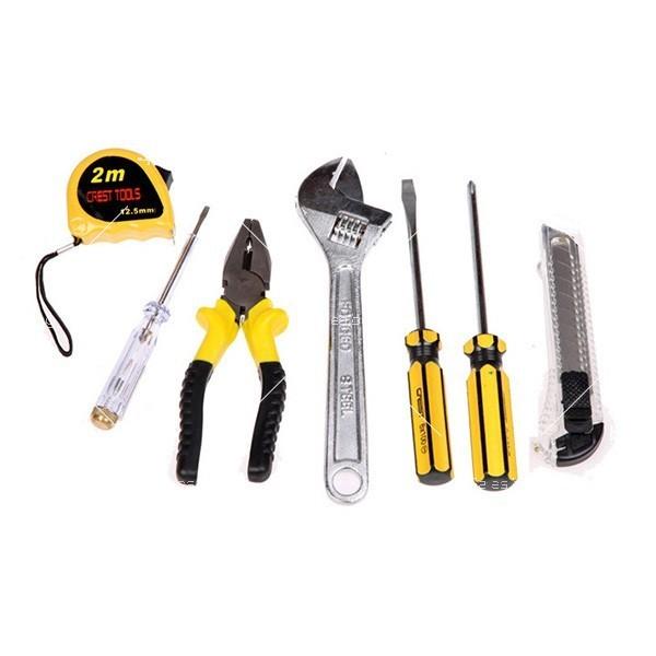 7 инструмента в куфарче CASE-7 LA808 3