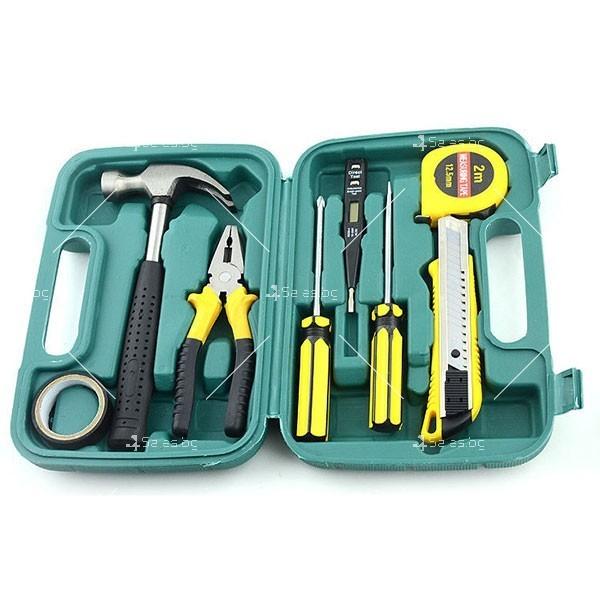 9 инструмента в куфарче CASE-6 LA809A
