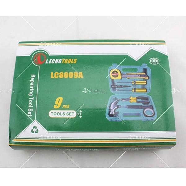 9 инструмента в куфарче CASE-6 LA809A 8