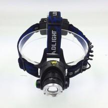 Фокусиращ фар за глава T6 бяло осветление CREE велосипедни светлини FL14