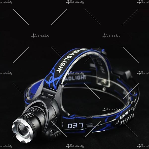 Фенер за глава със силна светлина и SOS режим FL19 1