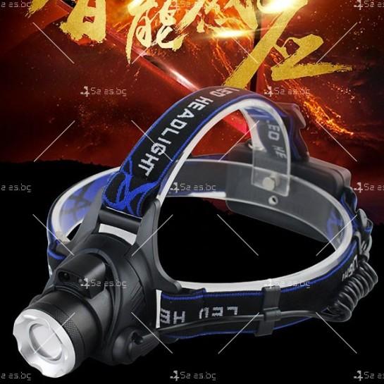 Индуктивен силен фенер за глава с лампа на миньор, за дълги разстояния FL23