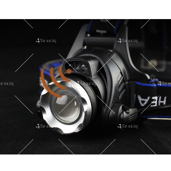 Индуктивен силен фенер за глава с лампа на миньор, за дълги разстояния FL23 2