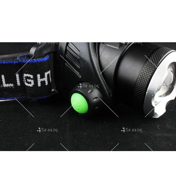 Индуктивен силен фенер за глава с лампа на миньор, за дълги разстояния FL23 6