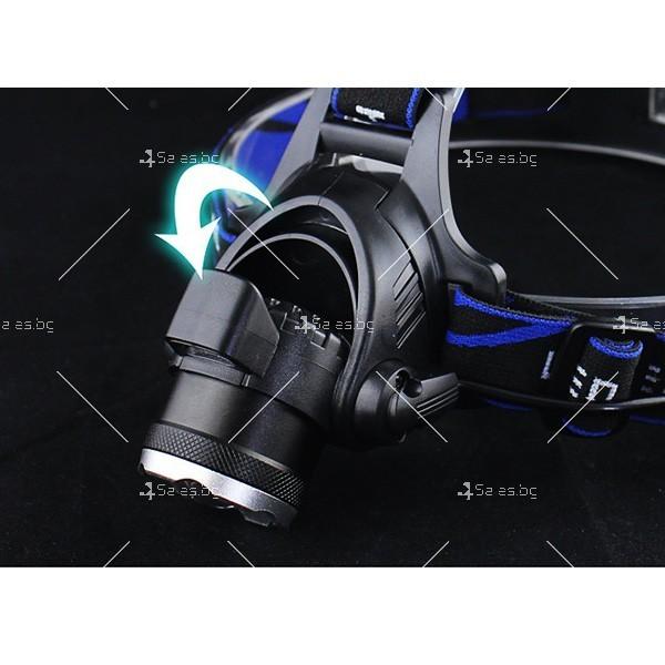 Индуктивен силен фенер за глава с лампа на миньор, за дълги разстояния FL23 7