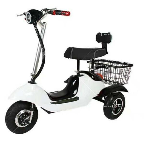 Електрическа триколка (скутер) за възрастни хора и студенти TRIKOK2 2