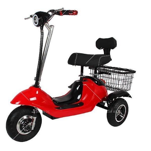 Електрическа триколка (скутер) за възрастни хора и студенти TRIKOK2 3