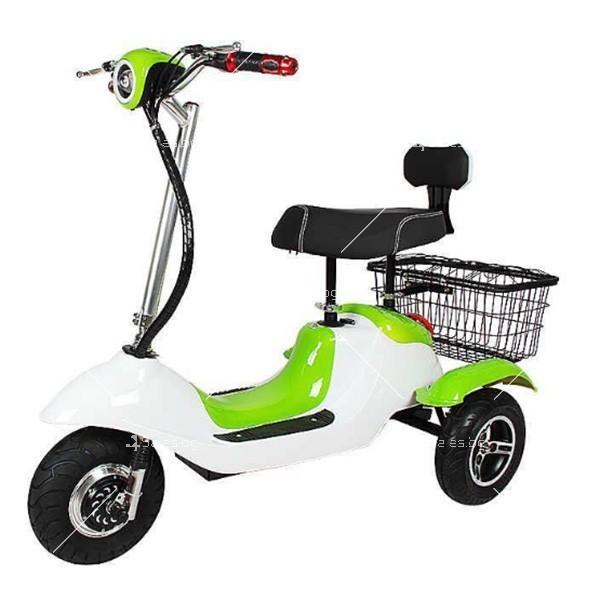 Електрическа триколка (скутер) за възрастни хора и студенти TRIKOK2 4