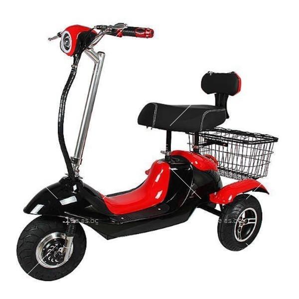 Електрическа триколка (скутер) за възрастни хора и студенти TRIKOK2