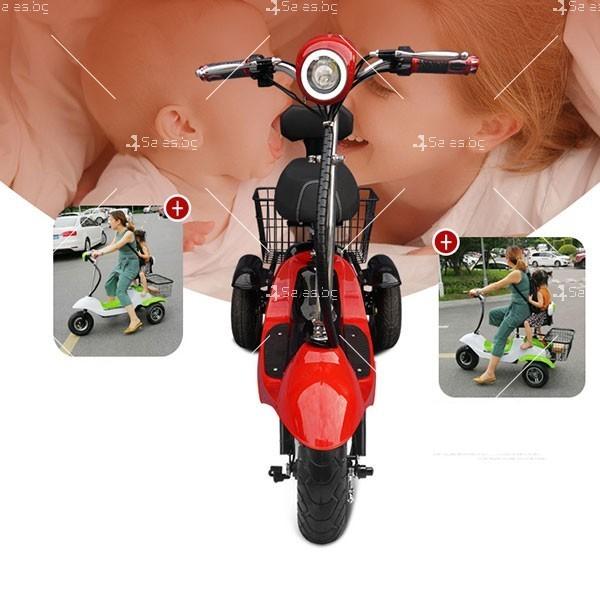 Електрическа триколка (скутер) за възрастни хора и студенти TRIKOK2 6