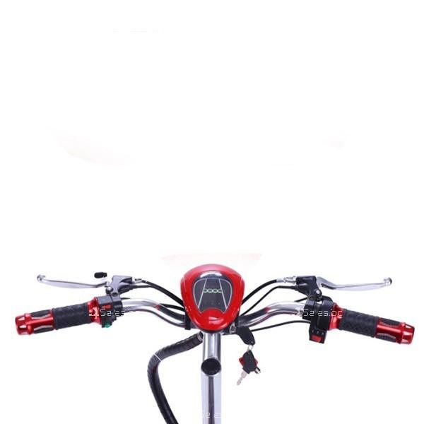 Електрическа триколка (скутер) за възрастни хора и студенти TRIKOK2 7