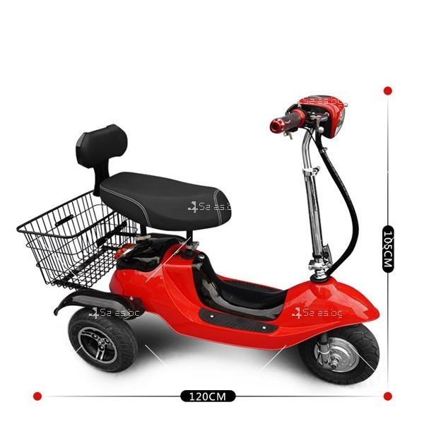 Електрическа триколка (скутер) за възрастни хора и студенти TRIKOK2 8