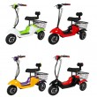 Електрическа триколка (скутер) за възрастни хора и студенти TRIKOK2 9