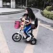 Дамска сгъваема електрическа триколка скутер - майка и дете TRIKOK3 3