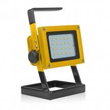 Преносим LED прожектор за екстремни ситуации с акумулаторно зареждане GDL1