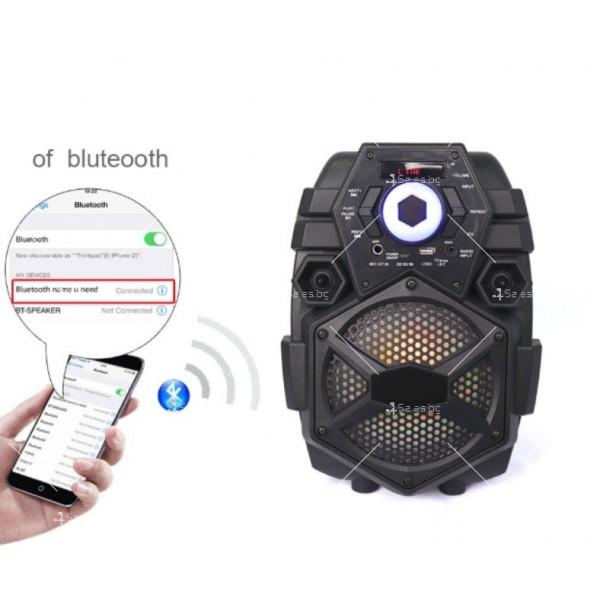 Караоке тонколона с Bluetooth връзка и USB вход Q6 1