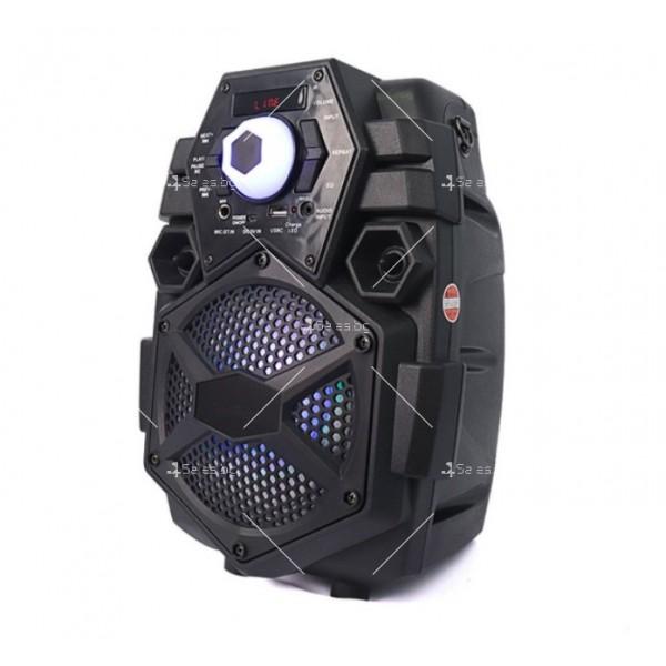 Караоке тонколона с Bluetooth връзка и USB вход Q6 2