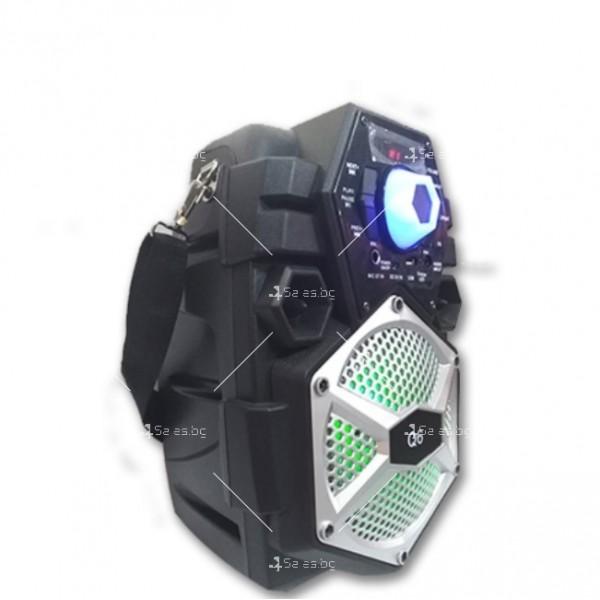 Караоке тонколона с Bluetooth връзка и USB вход Q6 9