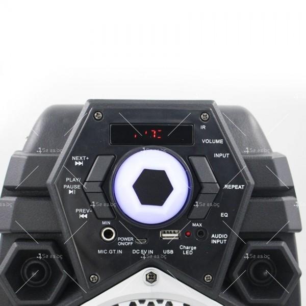 Караоке тонколона с Bluetooth връзка и USB вход 15