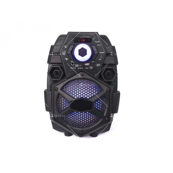 Караоке тонколона с Bluetooth връзка и USB вход Q6 18