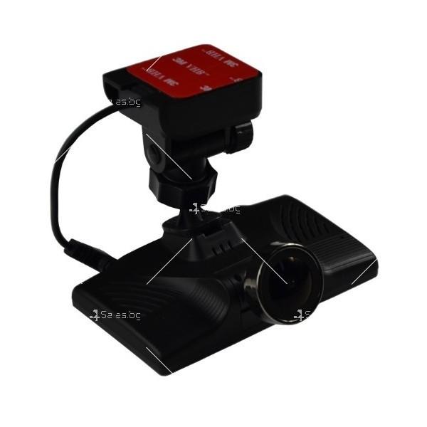 Видеорегистратор с 4 инчов дисплей свързан със сензори и камера, HD, GPS, AC77 2