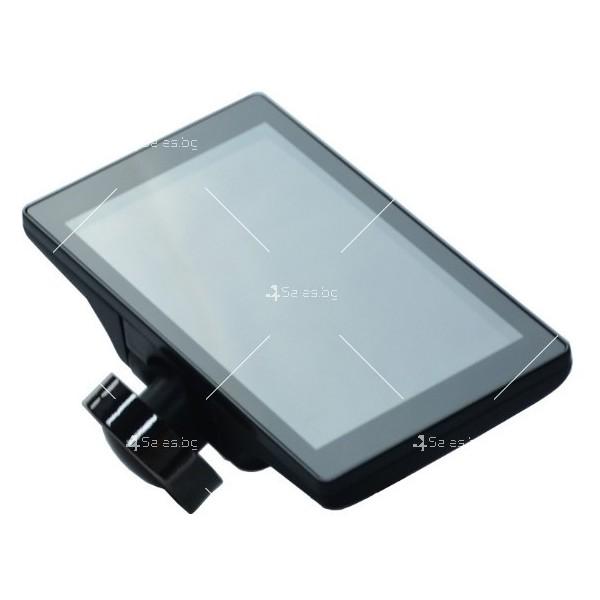 Видеорегистратор с 4 инчов дисплей свързан със сензори и камера, HD, GPS, AC77 3