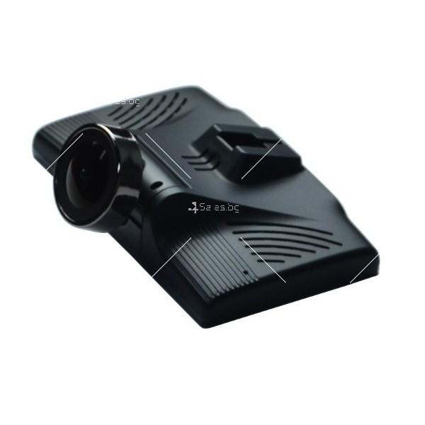 Видеорегистратор с 4 инчов дисплей свързан със сензори и камера, HD, GPS, AC77 4
