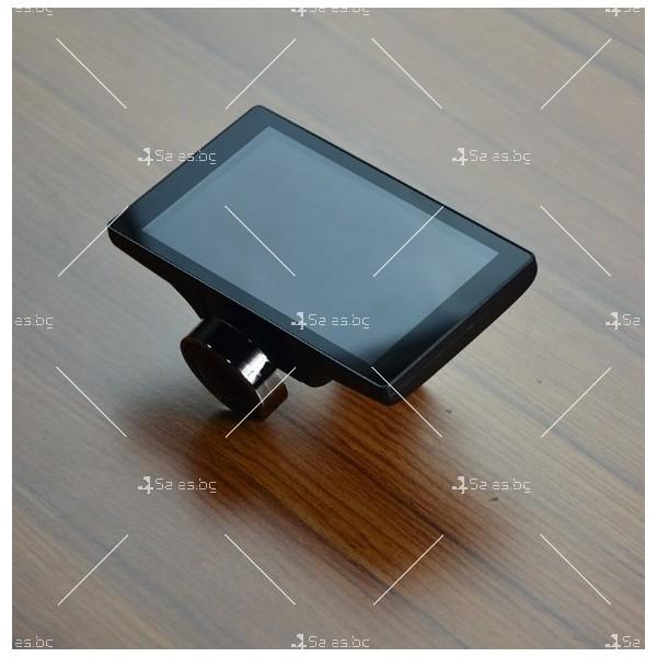 Видеорегистратор с 4 инчов дисплей свързан със сензори и камера, HD, GPS, AC77 5