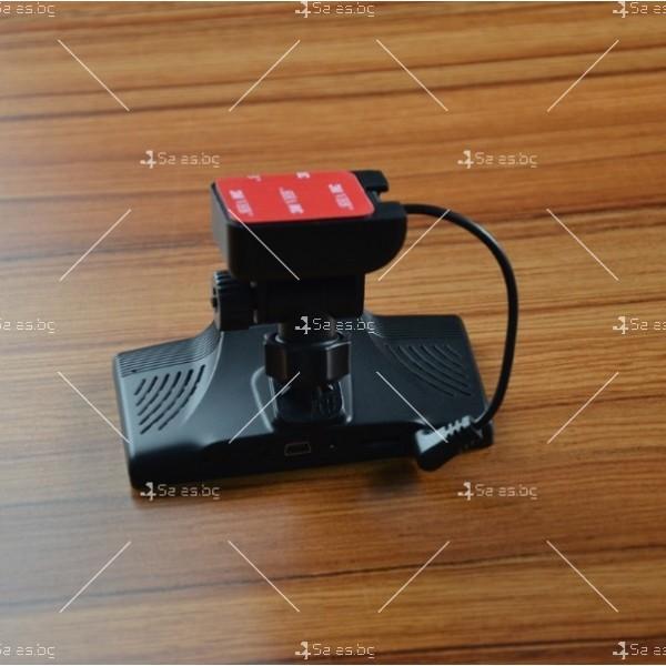 Видеорегистратор с 4 инчов дисплей свързан със сензори и камера, HD, GPS, AC77 7