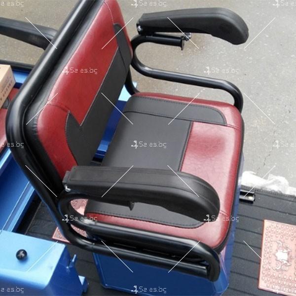 Електротриколка TS-T5 с хиляда вата мощност, две седалки и ремарке TRIKOK4 1