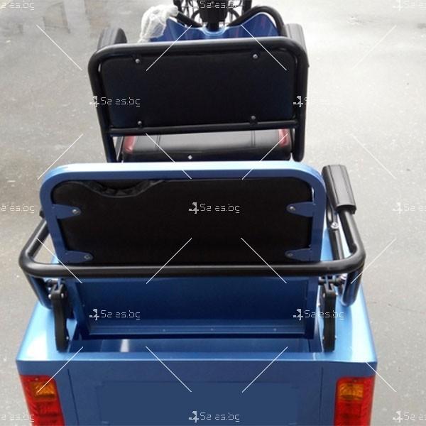 Електротриколка TS-T5 с хиляда вата мощност, две седалки и ремарке TRIKOK4 2