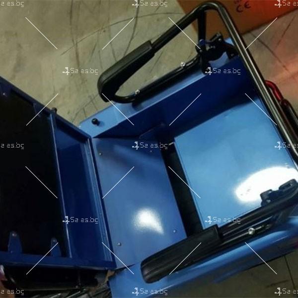 Електротриколка TS-T5 с хиляда вата мощност, две седалки и ремарке TRIKOK4 7