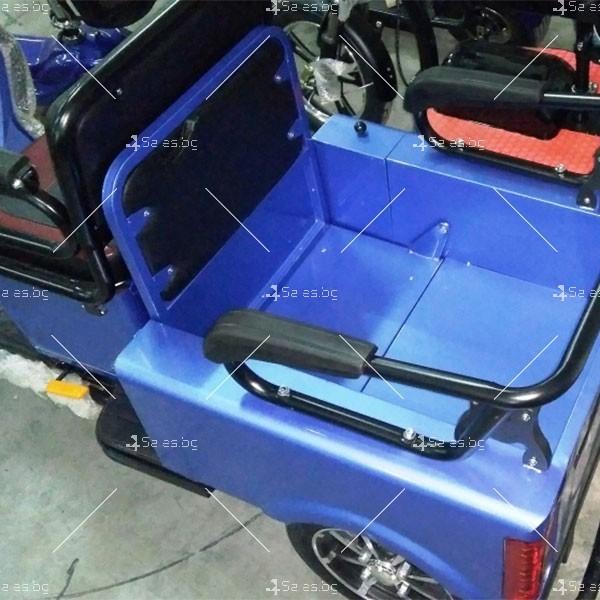 Електротриколка TS-T5 с хиляда вата мощност, две седалки и ремарке TRIKOK4 9