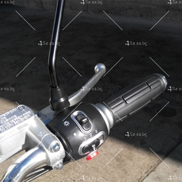 Скутер с мотор Bosch и кош за багаж 8
