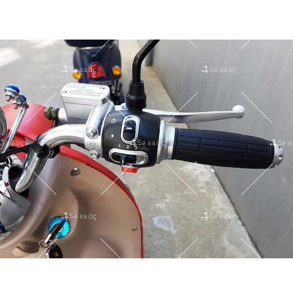Скутер с мотор Bosch и кош за багаж 9