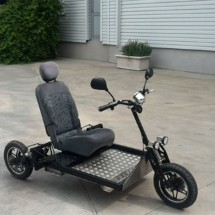 Volt Electric – класическа триколка с удобна седалка